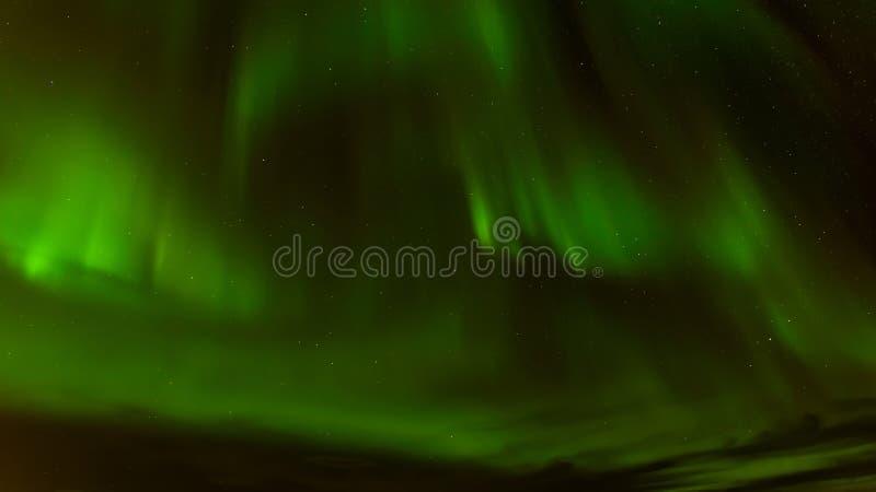 Aurora borealis o aurora boreal en Tromso, Noruega fotos de archivo