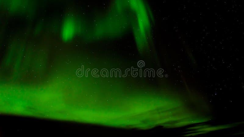 Aurora borealis o aurora boreal en Tromso, Noruega imagenes de archivo