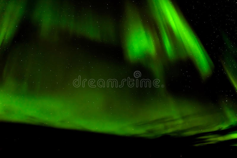 Aurora borealis o aurora boreal, Noruega fotos de archivo