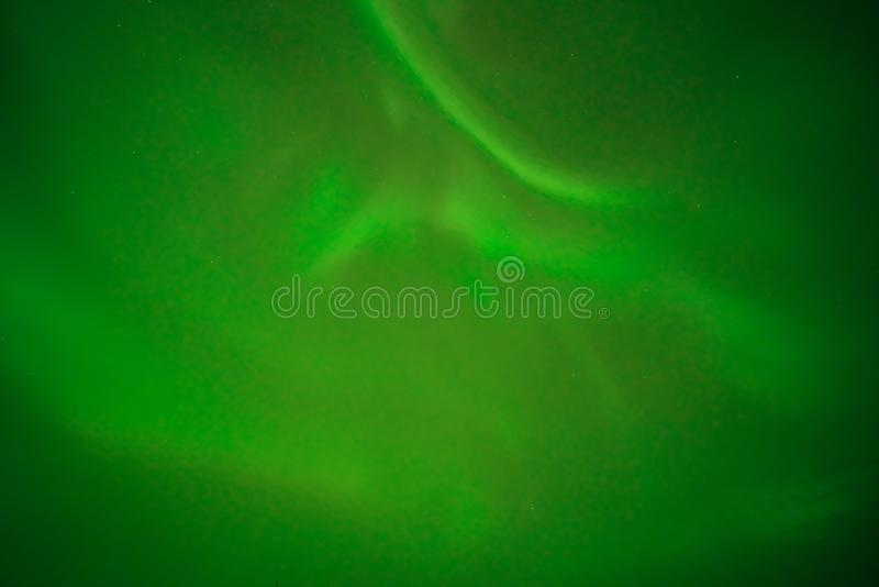 Aurora borealis oder Northern Light beobachtete am August 2019 in Yellowmesser, Kanada stockbild