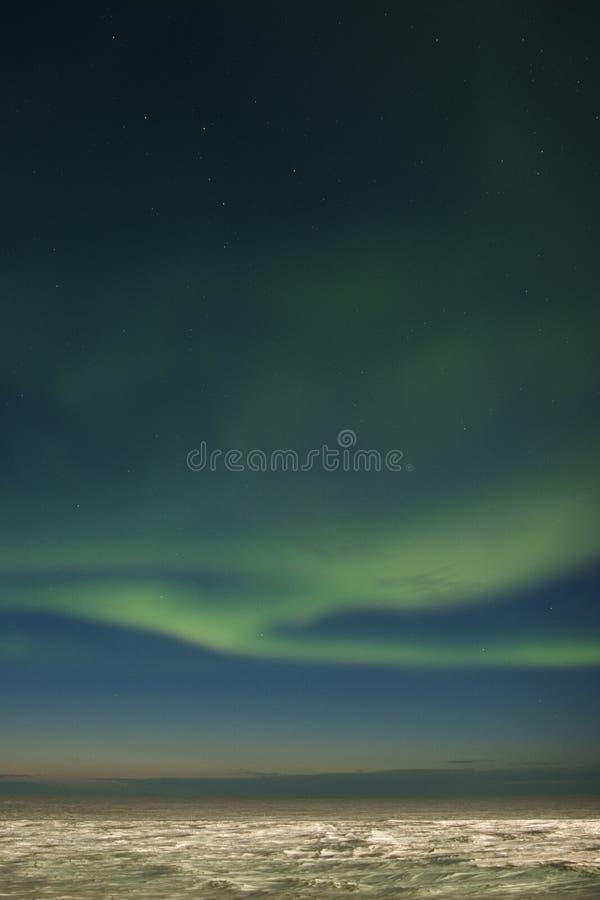 Aurora con penombra fotografie stock libere da diritti