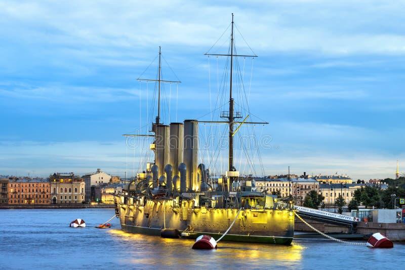 Aurora del crucero fotografía de archivo libre de regalías
