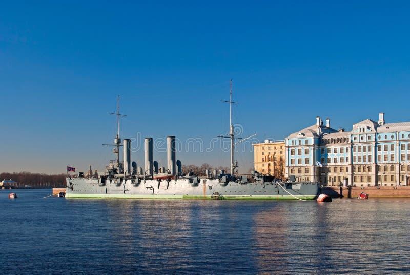 Aurora del crucero. imagen de archivo