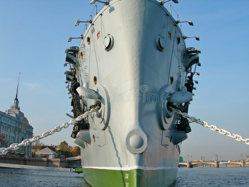 Aurora del crucero imagen de archivo