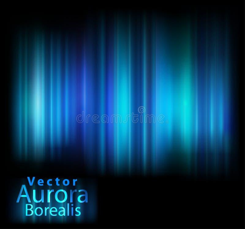 A Aurora do vetor ilumina o fundo ilustração royalty free
