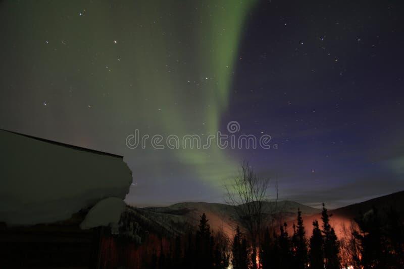 Aurora em Alaska imagens de stock royalty free