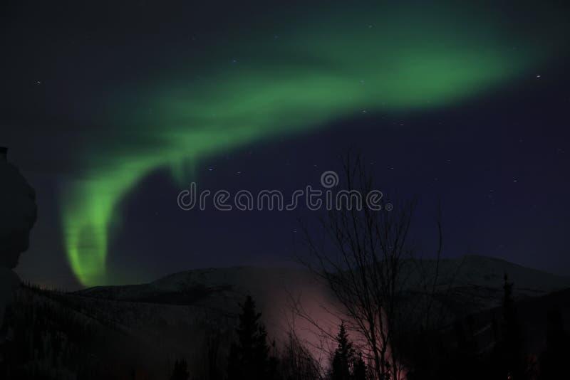 Aurora em Alaska fotografia de stock royalty free