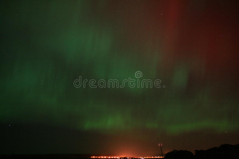 Aurora scozzese immagine stock