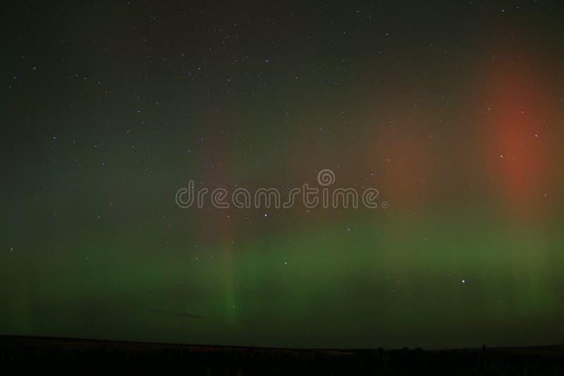 Aurora scozzese fotografia stock