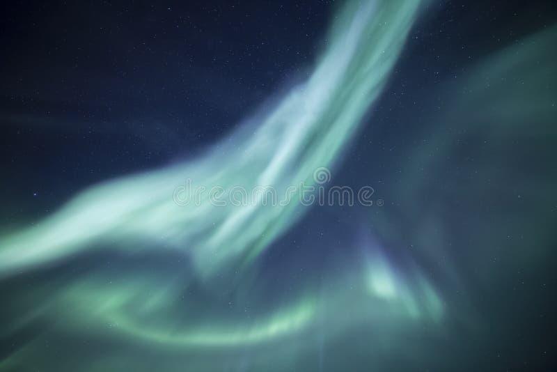 Aurora Sky arkivbilder