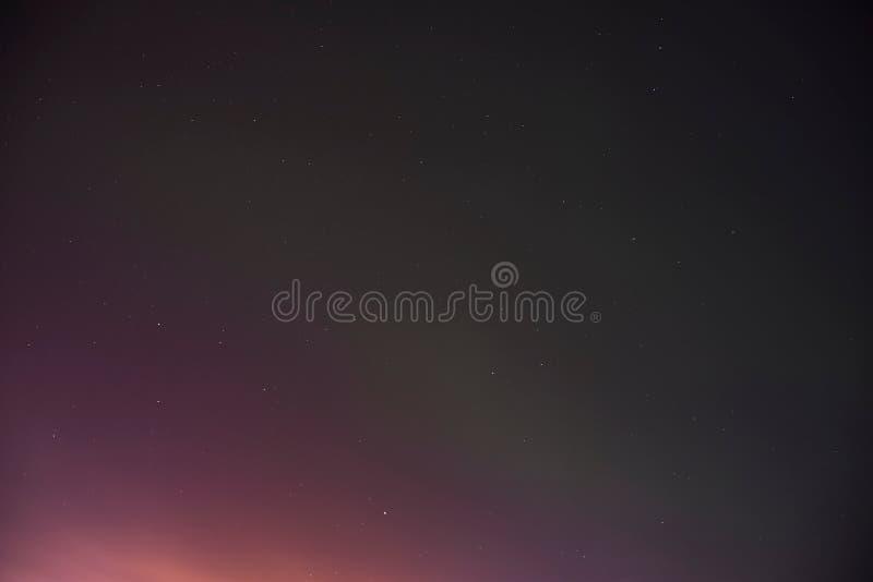 Aurora Sky Background fotografering för bildbyråer