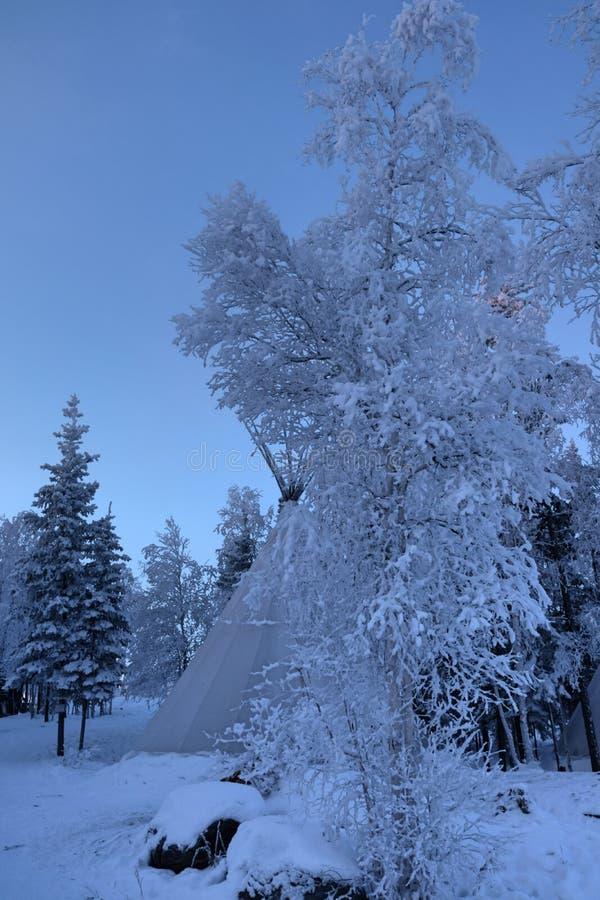 Aurora Village i Yellowknife arkivfoton