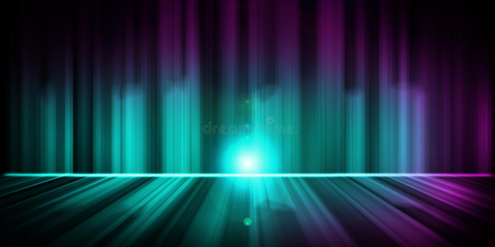 Aurora Wallpaper Royalty Free Stock Images