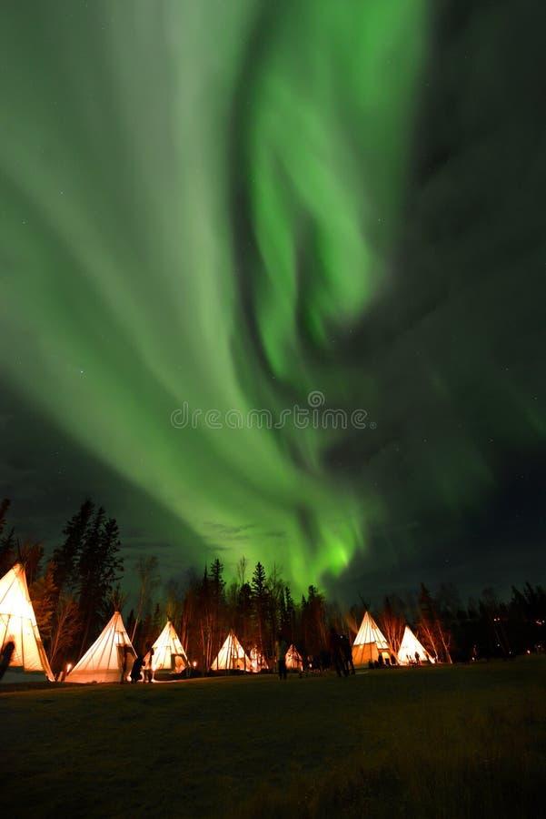 Aurora stock photography