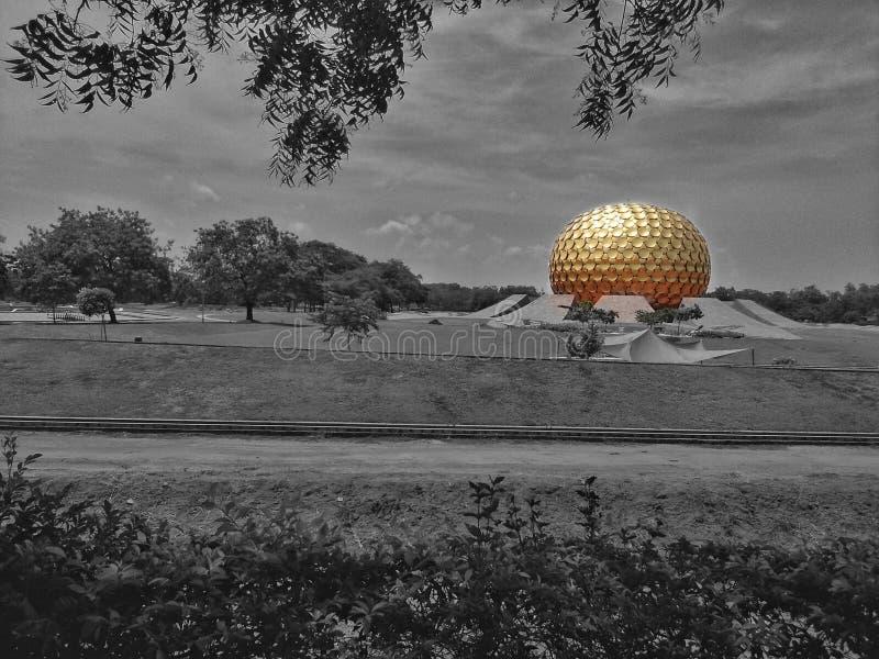 Auroville 免版税库存照片