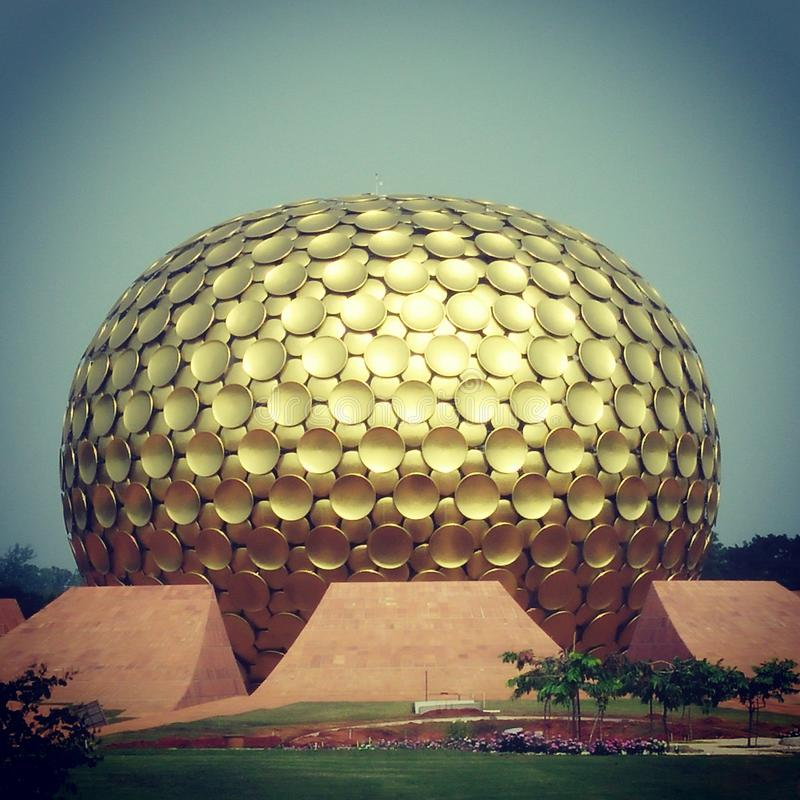 Auroville royalty free stock images