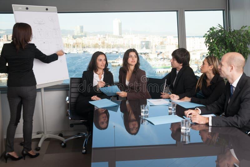 Ausbildung in der Chefetage lizenzfreie stockfotografie