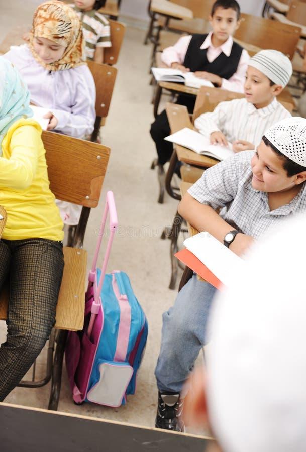Ausbildungsaktivitäten im Klassenzimmer stockbild