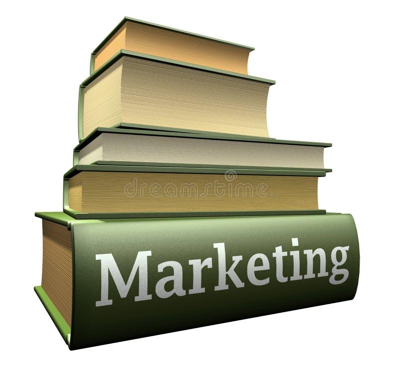 Ausbildungsbücher - Marketing stock abbildung