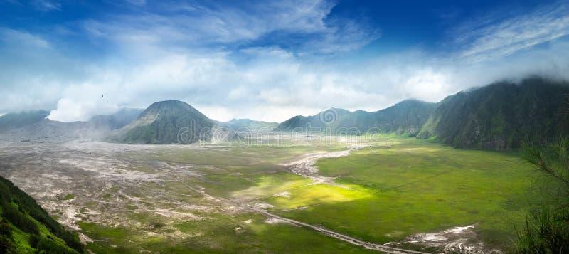 Ausbrechen von Bromo-Vulkan Osttimor, Indonesi lizenzfreie stockfotografie