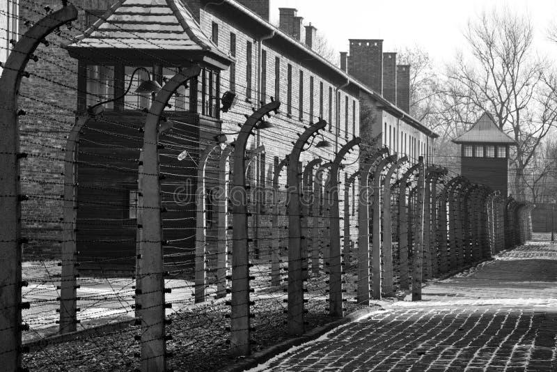 auschwitz阵营浓度纳粹波兰 免版税库存图片