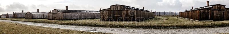 2 auschwitz στρατόπεδων πολεμικός κόσμος καθεστώτος της Πολωνίας συγκέντρωσης ναζιστικός στοκ εικόνα