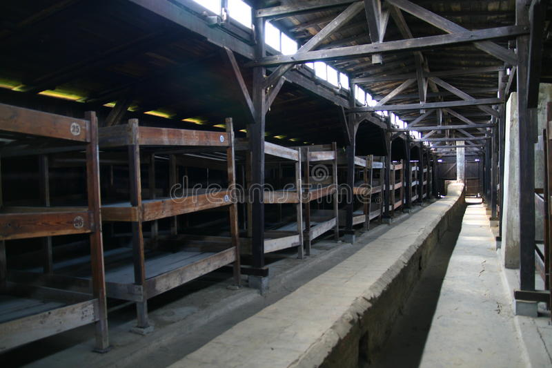auschwitz φυλακή αποδοκιμασιών στοκ εικόνα
