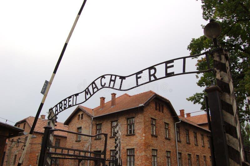 Auschwitz royalty-vrije stock foto