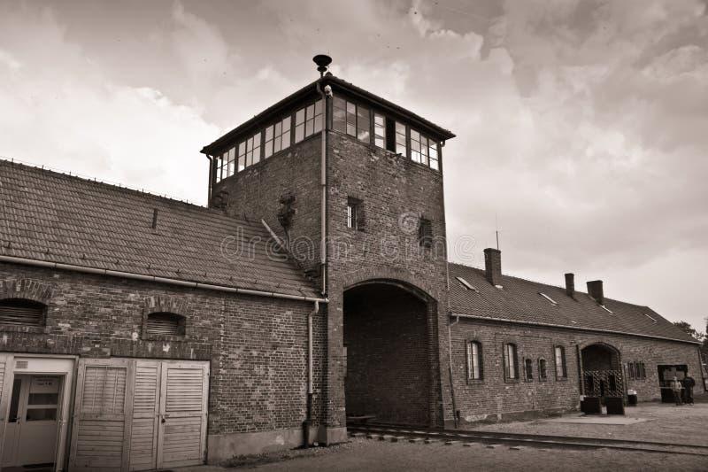 Auschwitz foto de stock