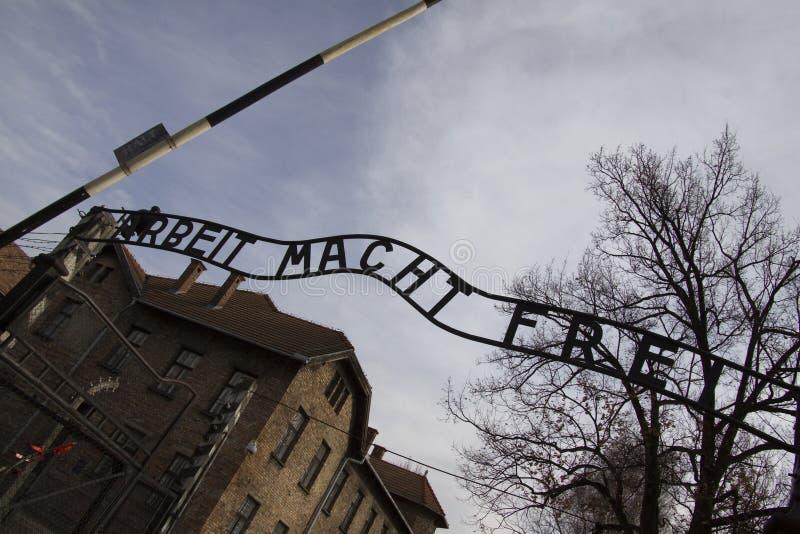 Auschwitz imagem de stock royalty free
