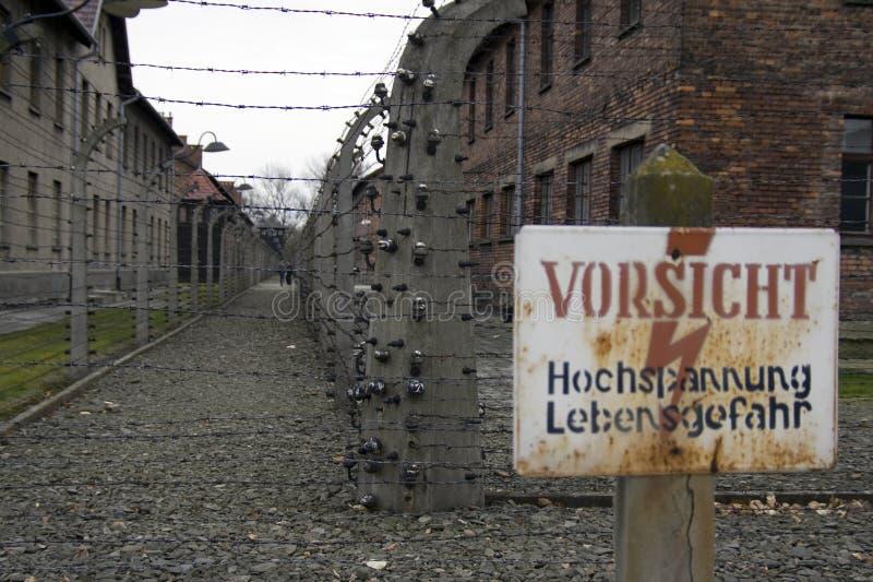Auschwitz images stock