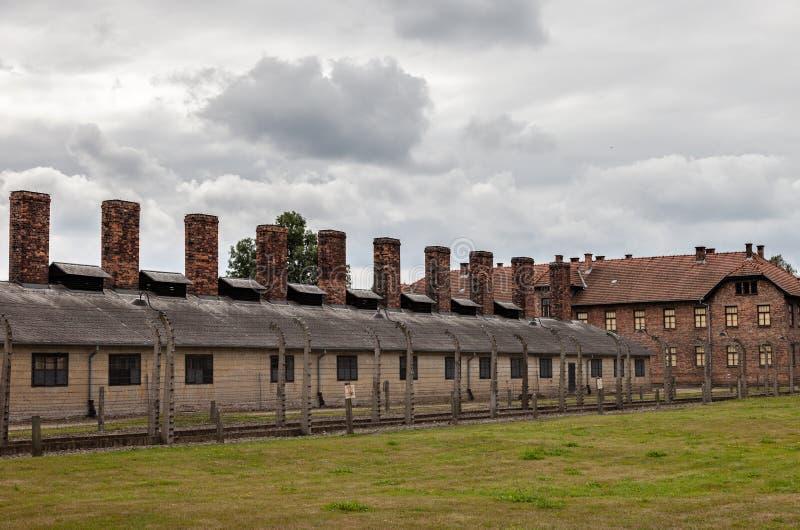 Auschwitz στοκ εικόνες