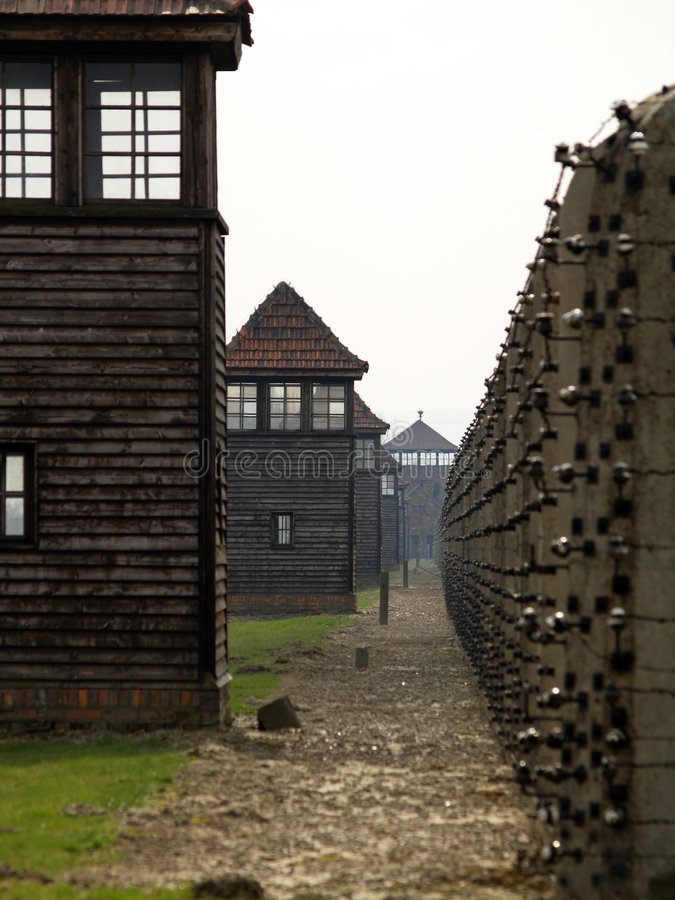 Auschwitz royalty free stock images