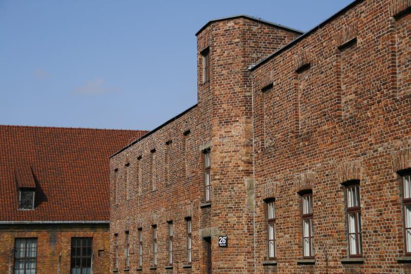 Auschwitz royalty-vrije stock afbeeldingen