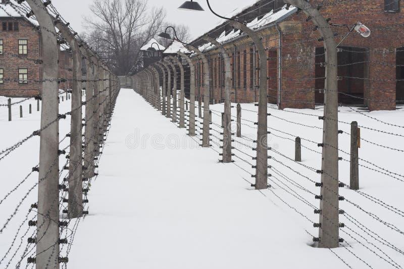 Auschwitz stock fotografie