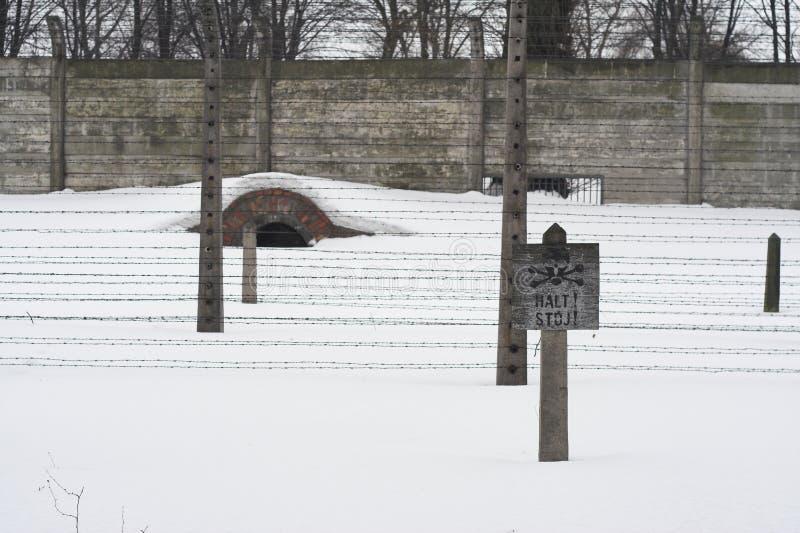 Auschwitz stock foto