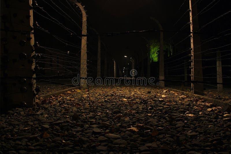 Auschwitz 7 stock afbeelding