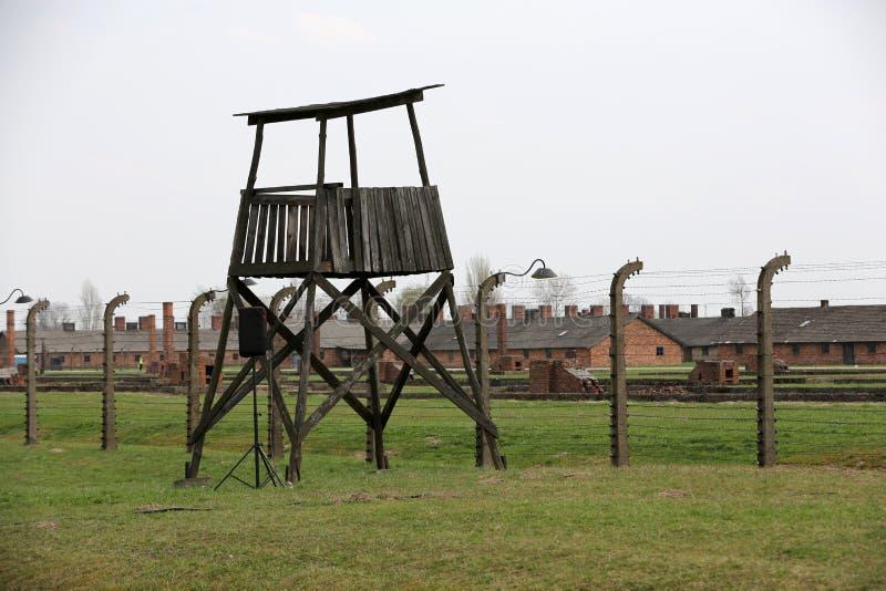 Auschwitz The biggest II Birkenau. Auschwitz II Birkenau. Poland. The biggest nazi concentration camp in Europe and now the State Museum Auschwitz-Birkenau stock photography