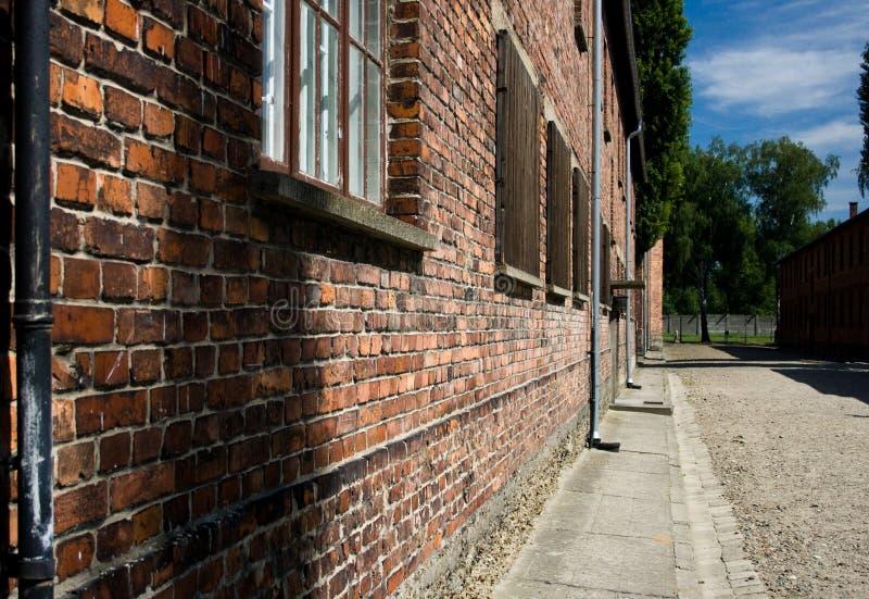 Auschwitz-Birkenau royalty free stock image