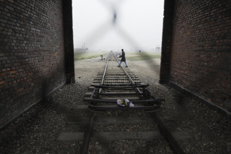 Auschwitz - Birkenau royalty free stock photo