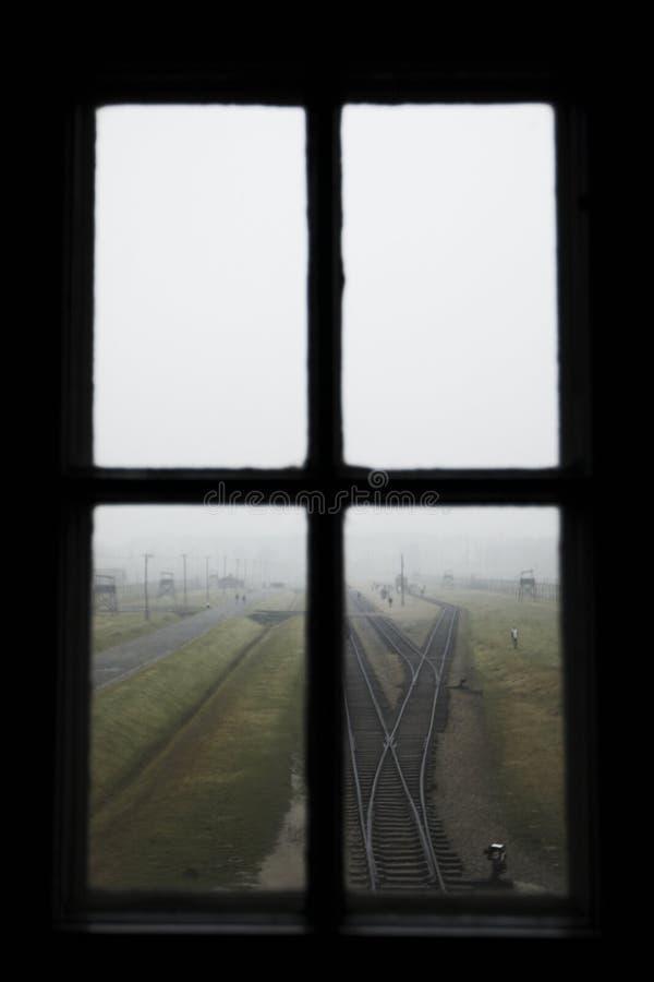 Auschwitz - Birkenau. December 5th 2009. Concentration Camp Oswiecim - Birkenau, Poland royalty free stock image
