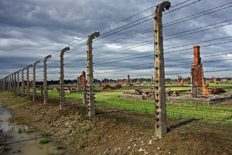 Auschwitz-Birkenau royalty free stock photo