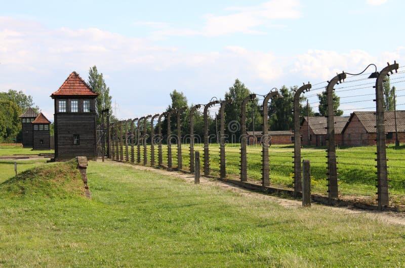 Auschwitz Birkenau stock image