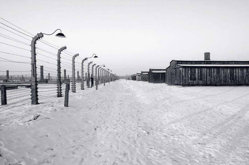 Auschwitz/Birkenau fotos de stock