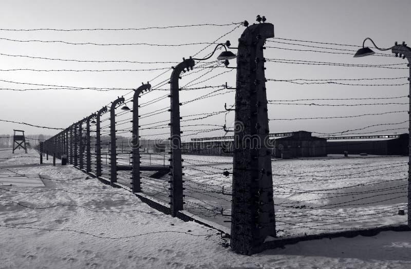 Auschwitz/Birkenau fotografia de stock
