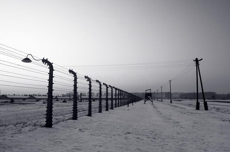 Auschwitz/Birkenau foto de stock