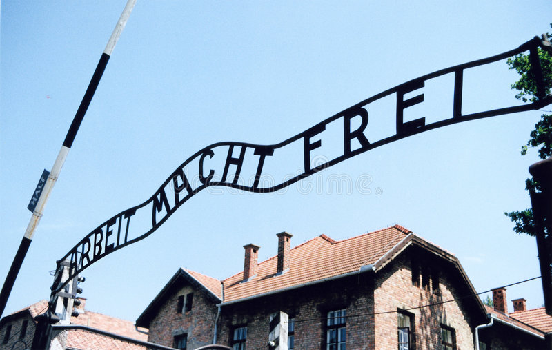 Auschwitz-Birkenau royalty free stock photography