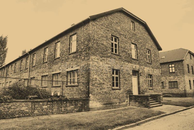 Download Auschwitz Birkenau camp editorial photo. Image of jewish - 14850951