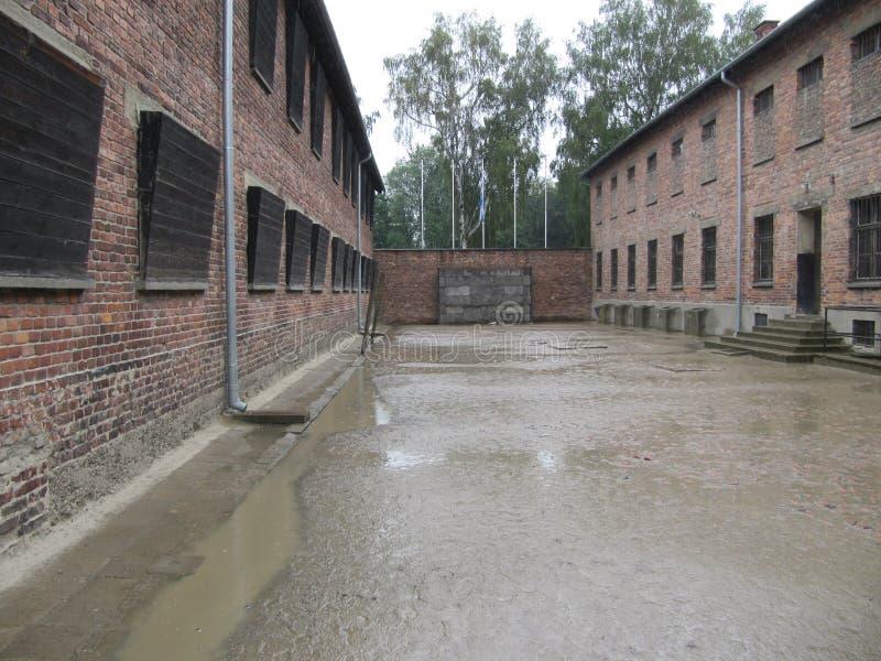 Auschwitz-Birkenau concentration camp. Oswiecim, Poland royalty free stock images