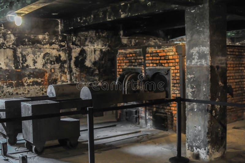 Auschwitz, das schlechteste, das überhaupt Menschlichkeit geschah lizenzfreie stockfotografie